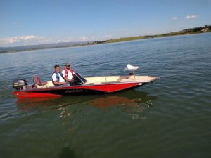 Barco Black Bass 5.5 SS (com comando) indicação motor 25 a 40HP - Orçamento WhatsApp 16 98111.8340 - Raul