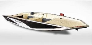 Barco Black Bass 5.0 Borda Flutuante Extra Alta indicação motor de 15 a 40HP (pilotar na popa) a partir de R$ 10.850,00 a vista.