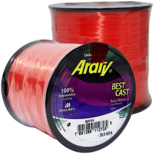 Linha Araty Best Cast Salmao 0,50mm - 470m