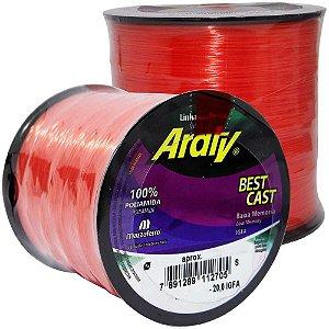 Linha Araty Best Cast Salmao 0,45mm - 570m