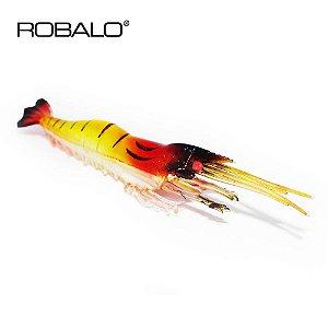 Isca artificial Camarão Robalo pitu 9 cm