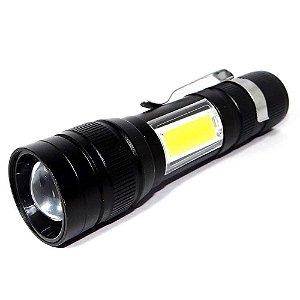 Lanterna Usb Lt-414 com luminária lateral