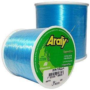 Linha Araty Superflex 1/4lb Azul 0,60mm 330m