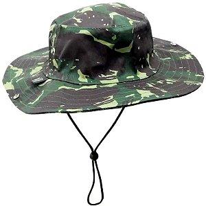 Chapéu Safari camuflado tipo Australiano