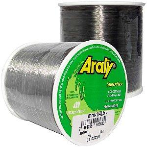 Linha Araty Superflex 1/4lb Fumê 0,60mm 330m