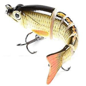 Isca Artificial Articulada Fishmaster Lambari mini 11cm 8,5g