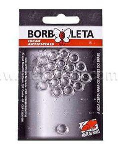 Argola Borboleta Inox 6.0 MM com 20