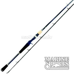 "Vara Marine Sports Lubina LUX-C561MH - 12-25lb - (5'6"") (1,68m) (carretilha) (inteiriça)"