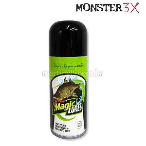 Protetor e renovador de iscas tipo soft Monster 3X magic lures 150 ml