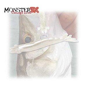 Isca Camarão Monster 3X X-Solid 8cm Manjuba 009 c/ 5 un.