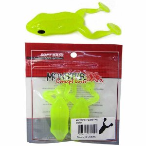 Isca Soft Monster Paddle Frog Mellow 2 un.