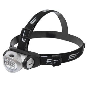 Lanterna de cabeça NTK com ajuste angular e refletor que gera maior economia e 20 lúmens Turbo Led