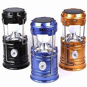Lanterna Lampião Yd-3589 Recarregável Cores Sortidas