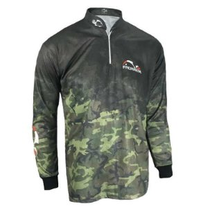 Camiseta de Pesca Faca na Rede Cs 20 Camuflado Ex 215