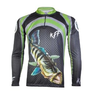 2 Camiseta de Pesca King Viking 14 - tam: M
