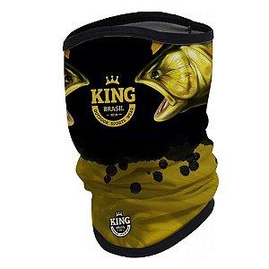 Camiseta de Pesca King  Kf 202 GG + Breeze Buff King Douradao 07 - Proteção UV