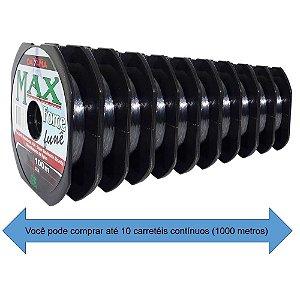 Linha Maruri Max Force Nylon Fumê 0,31mm 100m