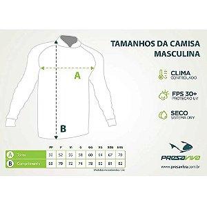 Camiseta de Pesca Presa Viva PV 06 - EXG + Breeze Buff Presa Viva PV 06