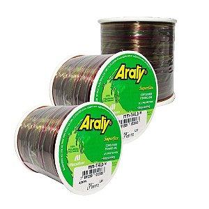 Linha Araty Superflex 1/4lb Multicolor 0,40mm 720m + 0,50mm 470m