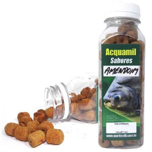 Ração Acquamil Furadinha Amendoim 110g
