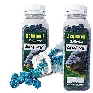 Kit 2 Ração Acquamil Furadinha Blue Ice 110g cada