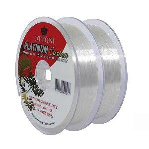 Kit 2 Linhas Platinum Fluorcarbon Leader 0,50mm 100m