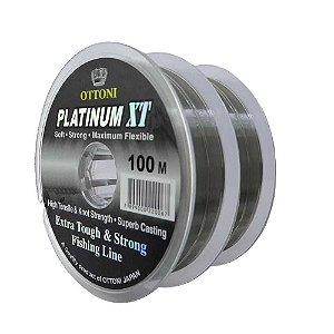 200m Linha Monofilamento Platinum XT - 0,35mm 15,53kg