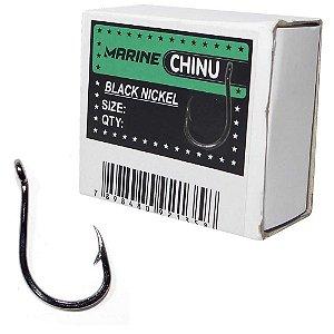 Anzol Marine Sports Chinu Black nickel n. 06 com 100 un.