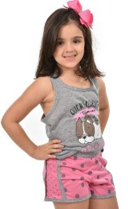 Baby Doll Bulldog Feminino Infantil
