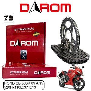 KIT TRANSMISSAO RELACAO DAROM HONDA CB 300R