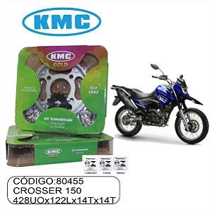 KIT TRANSMISSAO RELACAO  KMC GOLD CROSSER 150