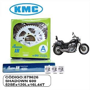 KIT TRANSMISSAO RELACAO  KMC GOLD SHADOWN 600