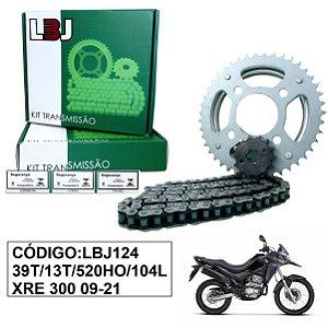 KIT TRANSMISSAO JBL RELACAO XRE 300 09-21 COM RETENTOR