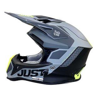 CAPACETE JUST 1 J18 ONE PULSAR MUITO LEVE MOTOCROSS TRILHA