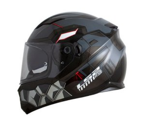 CAPACETE LS2 FF320 STREAM ANGEL GREY