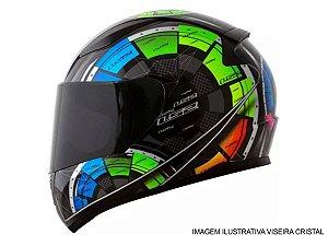 Capacete LS2 FF358 Tech Black