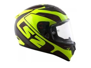 Capacete LS2 FF323 Arrow C Evo Sting Wimbry  Yellow