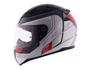 Capacete LS2 FF353 Rapid Slide Black Silver Red