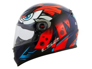 Capacete LS2 FF358 Tribal Orange