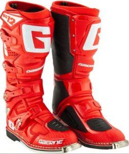 Bota Gaerne SG12 Red Solid Lançamento