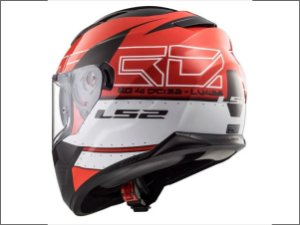Capacete LS2 FF320 Stream Kub Black Red