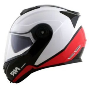 Capacete Norisk FF345 Chance White Red Black