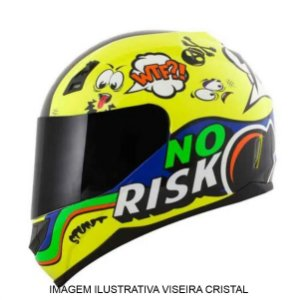 Capacete Norisk FF391 Panic Fluor Yellow