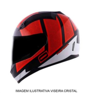 Capacete Norisk FF391 King White Black Red