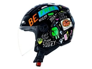 Capacete Norisk Orion Free Black Orange