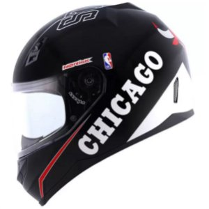 Capacete Norisk FF391 NBA Chicago Bulls Black