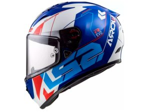 Capacete LS2 FF323 Arrow R Techno White Blue Red