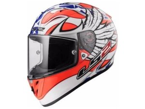 Capacete Ls2 FF323 Arrow R Freedom White Orange