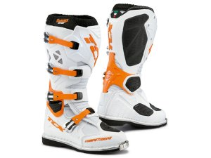 Bota Tcx Comp Evo White  Orange
