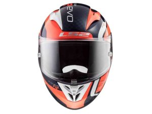 Capacete Ls2 FF323 Arrow C Evo Sting Blue Fluor Orange